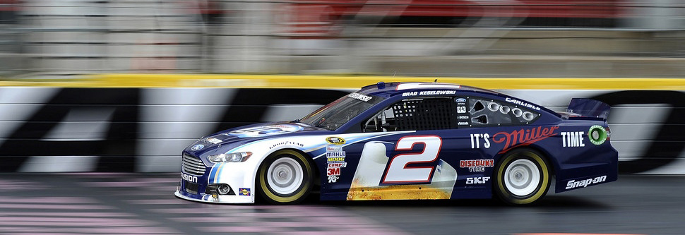 Champion Keselowski takes new Penske Ford out for initial test