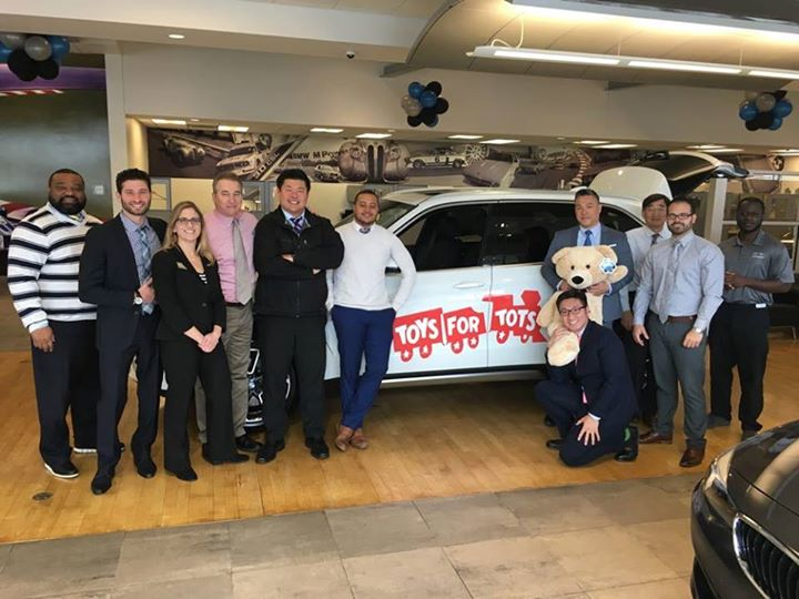 BMW of Mamaroneck Toys for Tots